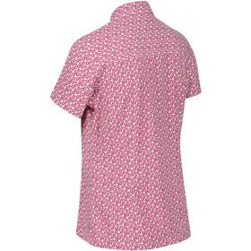 Regatta Mindano V T-Shirt Women dark cerise print